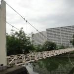 工兵橋 ~旧広島市内にある唯一の吊り橋~